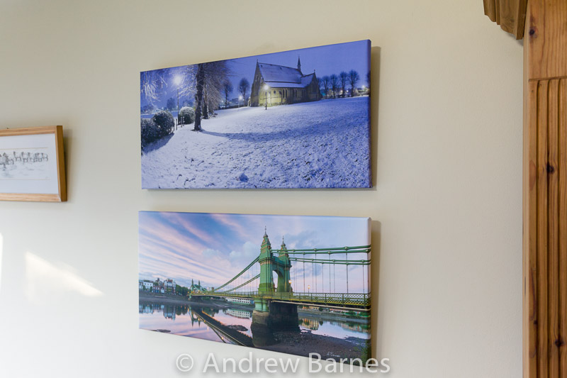 visiting my canvas prints in their new home andrew barnes photography